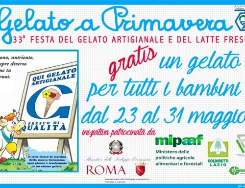 Gelato a Primavera 2018 – Claudio Pica: Ci piacerebbe il 1° Giugno, Festa Nazionale dedicata al Gelato Artigianale Italiano