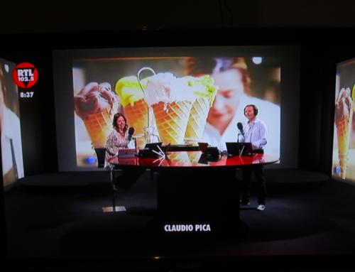 Claudio Pica in diretta su RTL 102.5: «Portiamo il gelato in tutto il mondo come l'Impero Romano ha portato la civiltà»