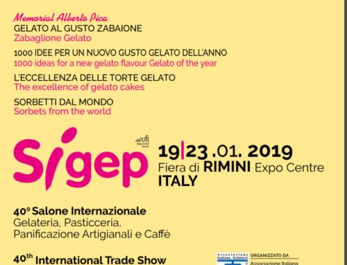 Tutti a Rimini per la 40° edizione del Sigep